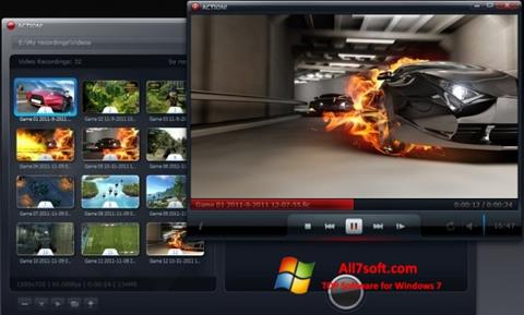 スクリーンショット Action! Windows 7版