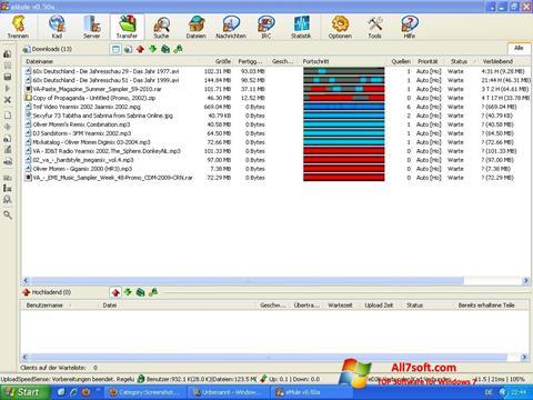 スクリーンショット eMule Windows 7版