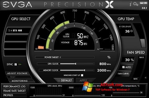 スクリーンショット EVGA Precision X Windows 7版