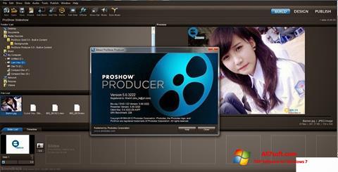 スクリーンショット ProShow Producer Windows 7版