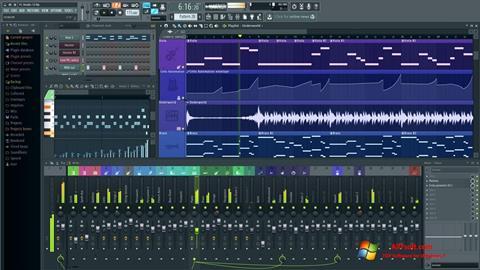 スクリーンショット FL Studio Windows 7版